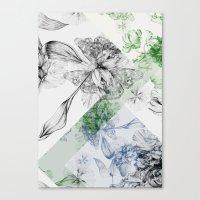 serenity Canvas Prints featuring Serenity by La Scarlatte