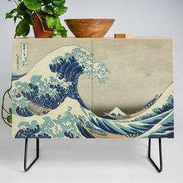 The Great Wave off Kanagawa Credenza