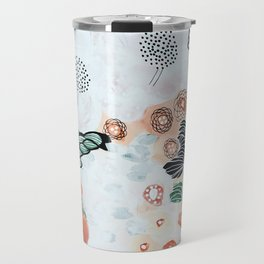 Flying trees by the pond Travel Mug