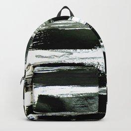 black strokes Backpack