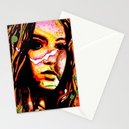 The Girl Who Waited Stationery Cards