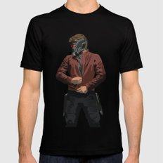 Starlord Mens Fitted Tee MEDIUM Black