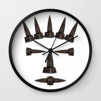 ironman Wall Clocks featuring Ironman by siloto