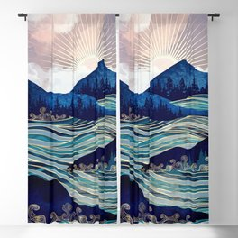 Ocean Sunrise Blackout Curtain