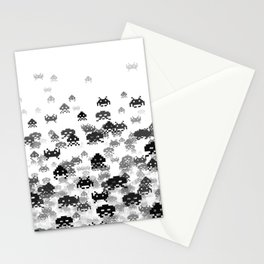Invaded III B&W Stationery Cards