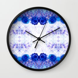 Crowning Flowers 2 Wall Clock