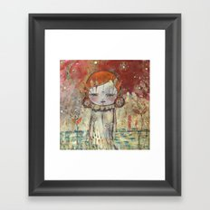 In Lands Of Milk And Honey Framed Art Print