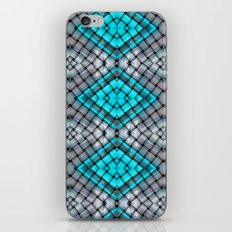 Blue eyes watching over you iPhone & iPod Skin