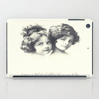 sisters iPad Cases featuring Sisters by Carol Knudsen Photographic Artist
