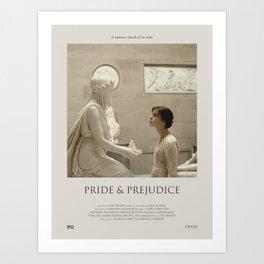 Pride and Prejudice (2005) Minimalist Poster Art Print