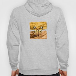 Gold and copper butterfly Hoody