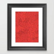Lucy Flowers Framed Art Print