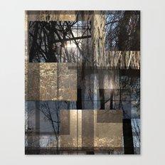 Sun Forest Canvas Print