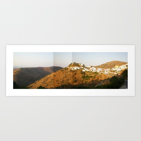 kea.greece Art Print