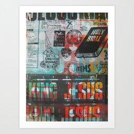 King Jesus Art Print