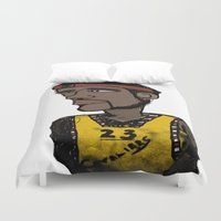 basketball Duvet Covers featuring Basketball  by JBLITTLEMONSTERS