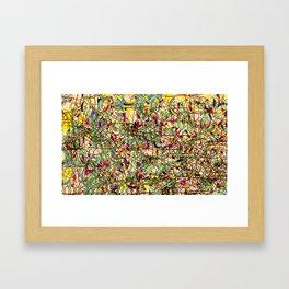 Emotional Map #23 Framed Art Print