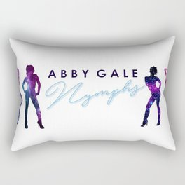 Abby Gale's Nymphs Rectangular Pillow