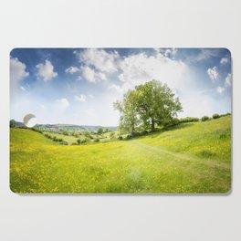 Idyllic Cotswold Summer Landscape Cutting Board
