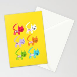 Colour Cat Stationery Cards