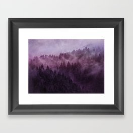 Excuse me, I'm lost // Laid Back Edit Framed Art Print