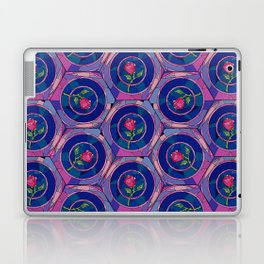 Stained Glass Rose - Beauty & The Beast Inspired Laptop & iPad Skin