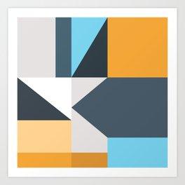 Modern Geometric 61 Art Print