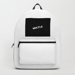 hustle funny quote Backpack