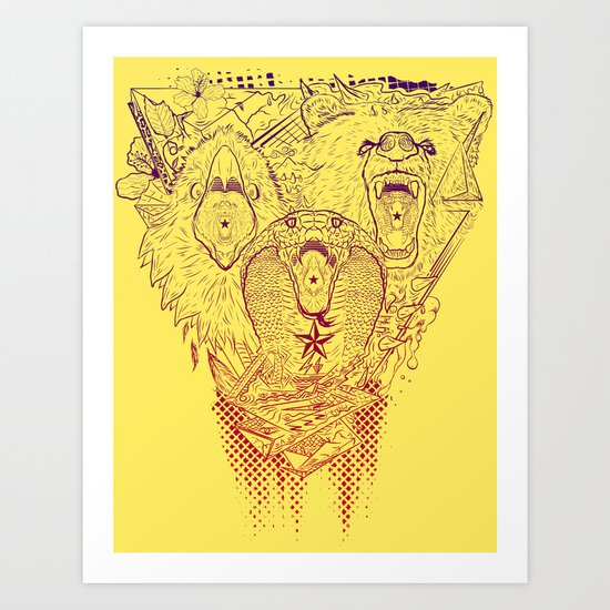 Open Wide! Art Print