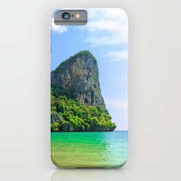 Krabi 4k sea summer Thailand boat Asia iPhone Case