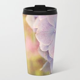 Purple Hydrangea flower. Travel Mug