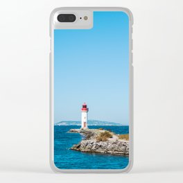 Le Phare/The Lighthouse Clear iPhone Case