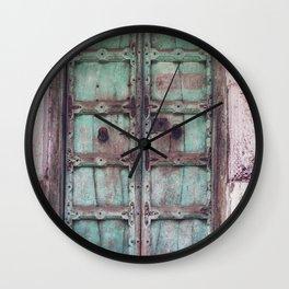 Doors Of India 3 Wall Clock