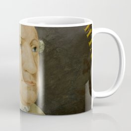 Vintage George Washington Portrait Painting (1800) Coffee Mug