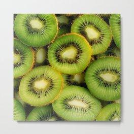 Kiwi Fruit Metal Print