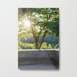 Peaking Light Metal Print