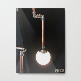 Lamp Man - FredPereiraStudios_Page_14 Metal Print