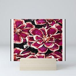 Floral Embosses: Magnolia Daydream 01-04 Mini Art Print