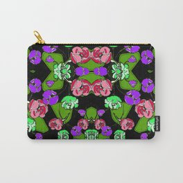 begonia Garden Carry-All Pouch