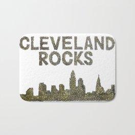 Cleveland Rocks Bath Mat