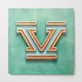 V3 Metal Print
