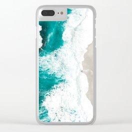 Sea 7 Clear iPhone Case
