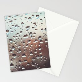 Wet Glass Stationery Cards