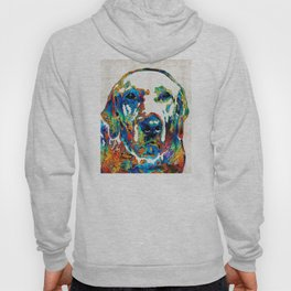 Labrador Retriever Art - Play With Me - By Sharon Cummings Hoody
