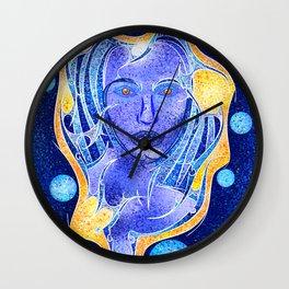 Angeonilium V4 - frozen beauty Wall Clock