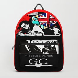 """"""" THE GOLD CHAMPION """" ... PAGE 27 Backpack"""