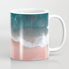 Turquoise Sea Pastel Beach III Coffee Mug