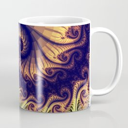 Abstract spirals and patterns Coffee Mug