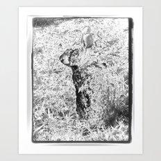 Spirit Rabbit III Art Print