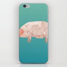 Geometric Pig iPhone & iPod Skin